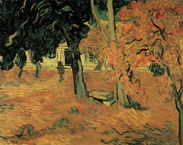 The Garden of Saint Paul Hospital Vincent van Gogh Oil Paintings