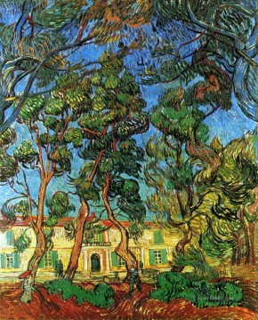 The Grounds of the Asylum Vincent van Gogh Oil Paintings