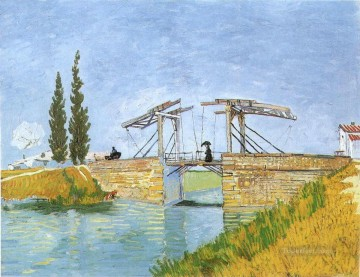 The Langlois Bridge Vincent van Gogh Oil Paintings