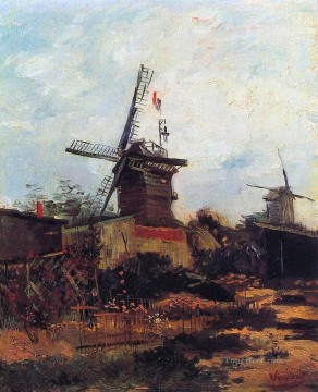 The Mill of Blute End Vincent van Gogh Oil Paintings