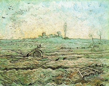 row works - The Plough and the Harrow after Millet Vincent van Gogh