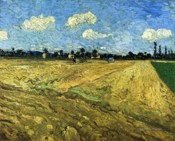 Vincent Van Gogh Painting - The Ploughed Field Vincent van Gogh