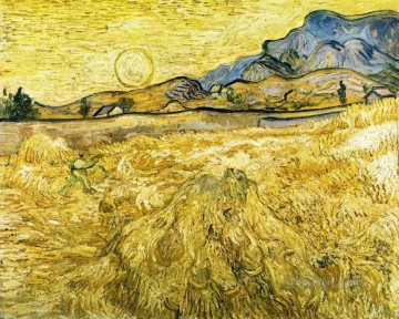 The Reaper Vincent van Gogh Oil Paintings