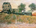 The Restaurant de la Sirene at Asnieres Vincent van Gogh