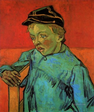 The Schoolboy Camille Roulin Vincent van Gogh Oil Paintings