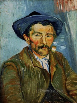 Vincent Van Gogh Painting - The Smoker Peasant Vincent van Gogh