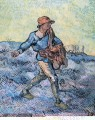 The Sower after Millet Vincent van Gogh