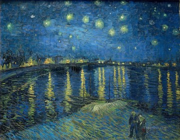 The Starry Night 2 Vincent van Gogh Oil Paintings