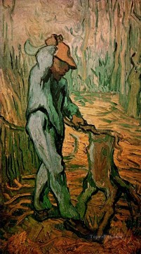 The Woodcutter after Millet Vincent van Gogh Oil Paintings
