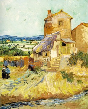 The old mill Vincent van Gogh Oil Paintings