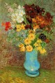 Vase with Daisies and Anemones Vincent van Gogh