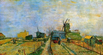 Vincent Van Gogh Painting - Vegetable Gardens in Montmartre 2 Vincent van Gogh