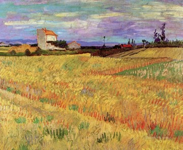 Vincent Van Gogh Painting - Wheat Field Vincent van Gogh