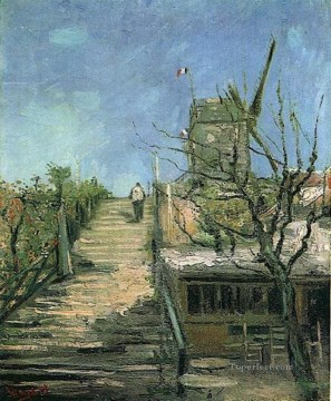 Windmill on Montmartre Vincent van Gogh Oil Paintings