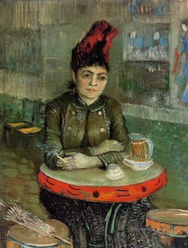 Vincent Van Gogh Painting - Woman in the Cafe Tambourin Vincent van Gogh