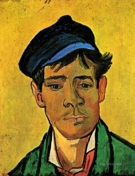 hat Oil Painting - Young Man with a Hat Vincent van Gogh