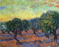 live Grove Orange Sky Vincent van Gogh
