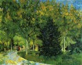 Avenue in the Park Vincent van Gogh