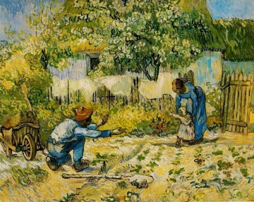 First Steps after Millet Vincent van Gogh Oil Paintings
