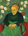 Madame Roulin Rocking the Cradle Vincent van Gogh