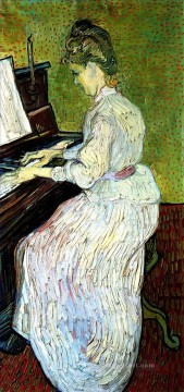 Marguerite Gachet at the Piano Vincent van Gogh Oil Paintings