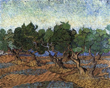 Olive Grove 2 Vincent van Gogh Oil Paintings