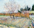 Orchard with Peach Trees in Blossom Vincent van Gogh