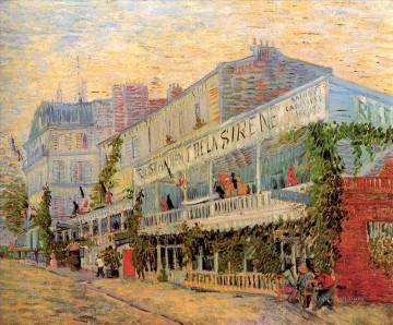 Restaurant de la Sirene at Asnieres Vincent van Gogh Oil Paintings