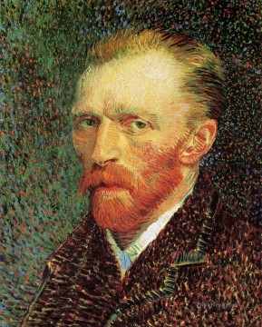 Vincent Van Gogh Painting - Self Portrait 1887 7 Vincent van Gogh