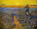 Sower with Setting Sun after Millet Vincent van Gogh