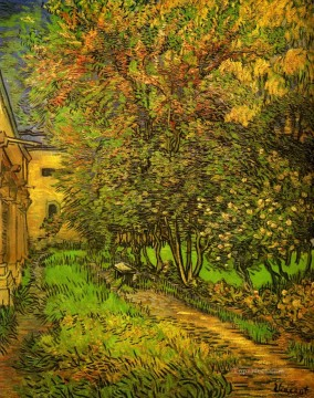 Vincent Van Gogh Painting - The Garden of Saint Paul Hospital 3 Vincent van Gogh