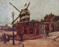 The Moulin de la Galette Vincent van Gogh