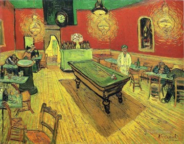 Vincent Van Gogh Painting - The Night Cafe Vincent van Gogh