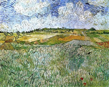 The Plain at Auvers Vincent van Gogh Oil Paintings