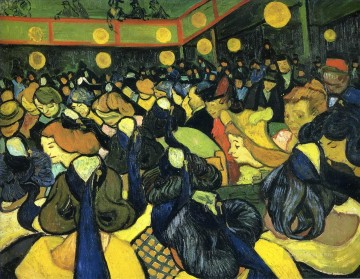 Vincent Van Gogh Painting - The ballroom at Arles Vincent van Gogh