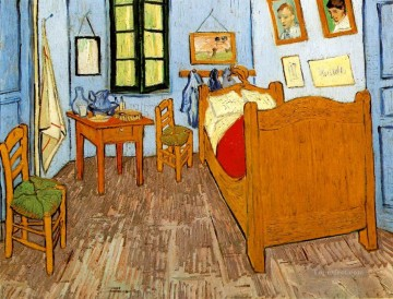 vincent van gogh Painting - Vincent s Bedroom in Arles Vincent van Gogh