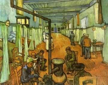 Ward in the Hospital at Arles Vincent van Gogh Oil Paintings