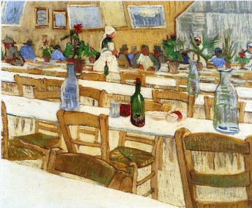 Interior of a Restaurant Vincent van Gogh Oil Paintings