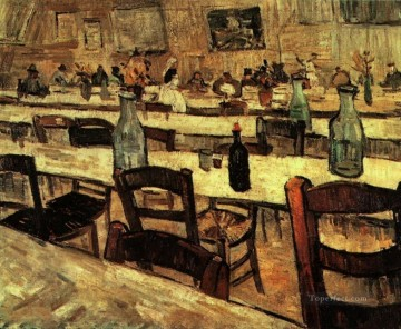 Interior of a Restaurant in Arles Vincent van Gogh Oil Paintings