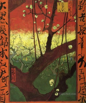 Japonaiserie after Hiroshige Vincent van Gogh Oil Paintings