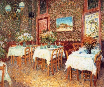 vincent van gogh Painting - Interior of a Restaurant 2 Vincent van Gogh