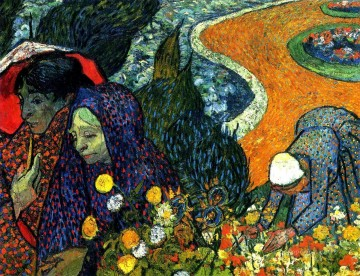 Vincent Van Gogh Painting - Ladies of Arles Memories of the Garden at Etten Vincent van Gogh
