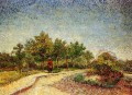 Lane in Voyer d Argenson Park at Asnieres Vincent van Gogh