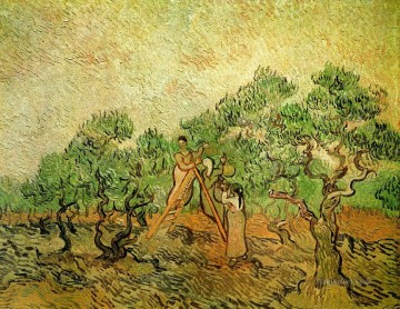 Vincent Van Gogh Painting - Olive Picking 3 Vincent van Gogh