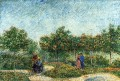 The Voyer d Argenson Park in Asnieres Vincent van Gogh