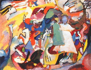 Wassily Kandinsky Painting - Angel of the Last Judgment Wassily Kandinsky
