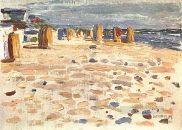 lan - Beach Baskets In Holland Wassily Kandinsky