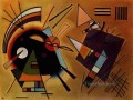 Black and Violet Expressionism abstract art Wassily Kandinsky