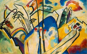 abstract Painting - Composition IV Expressionism abstract art Wassily Kandinsky