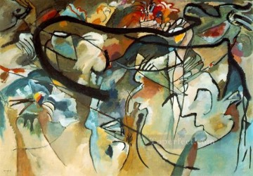 abstract Painting - Composition V Expressionism abstract art Wassily Kandinsky
